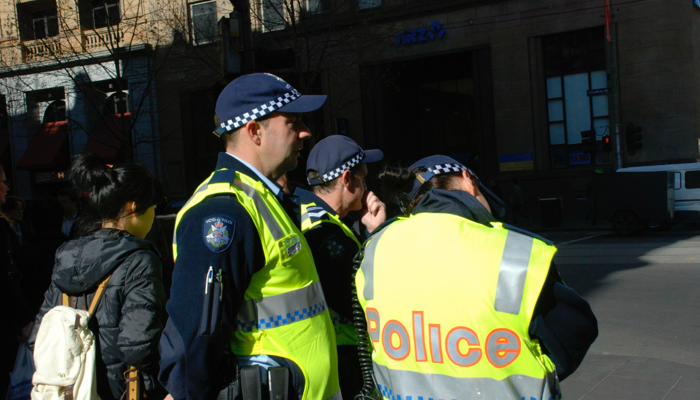 police in melbourne