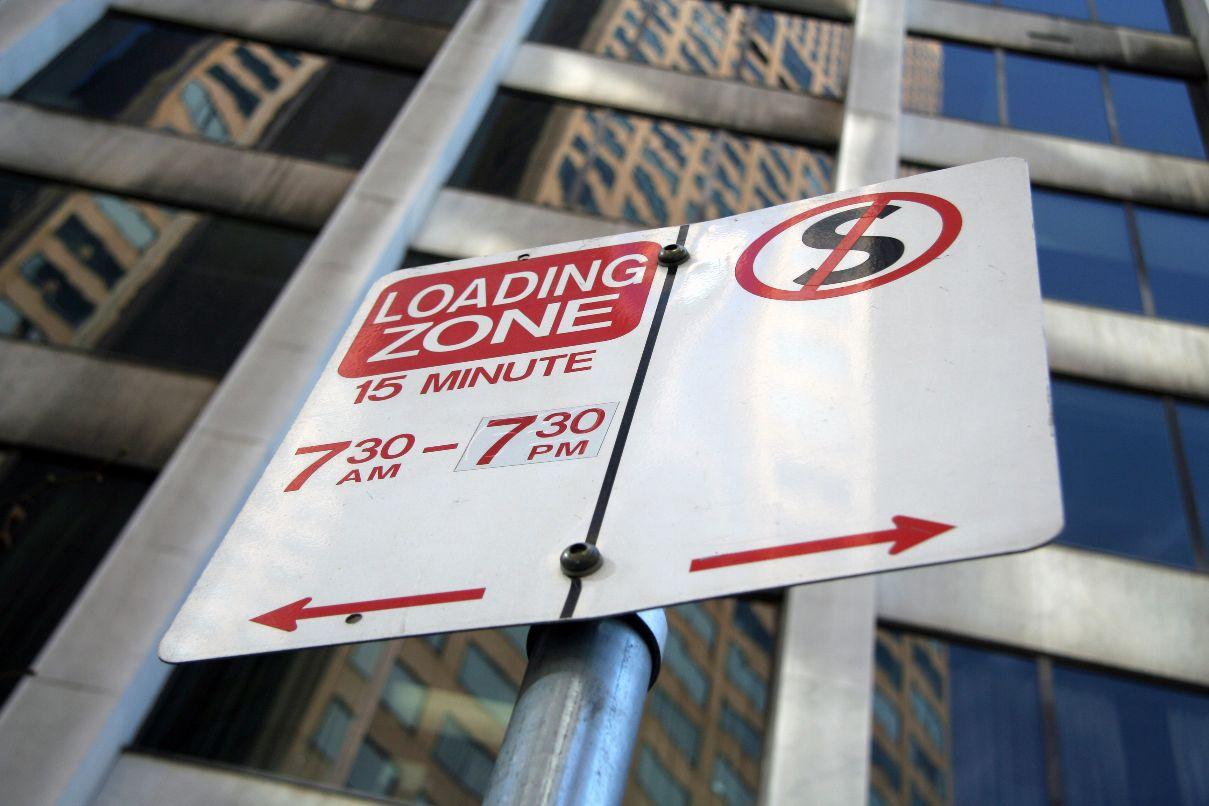 City Loading Zones