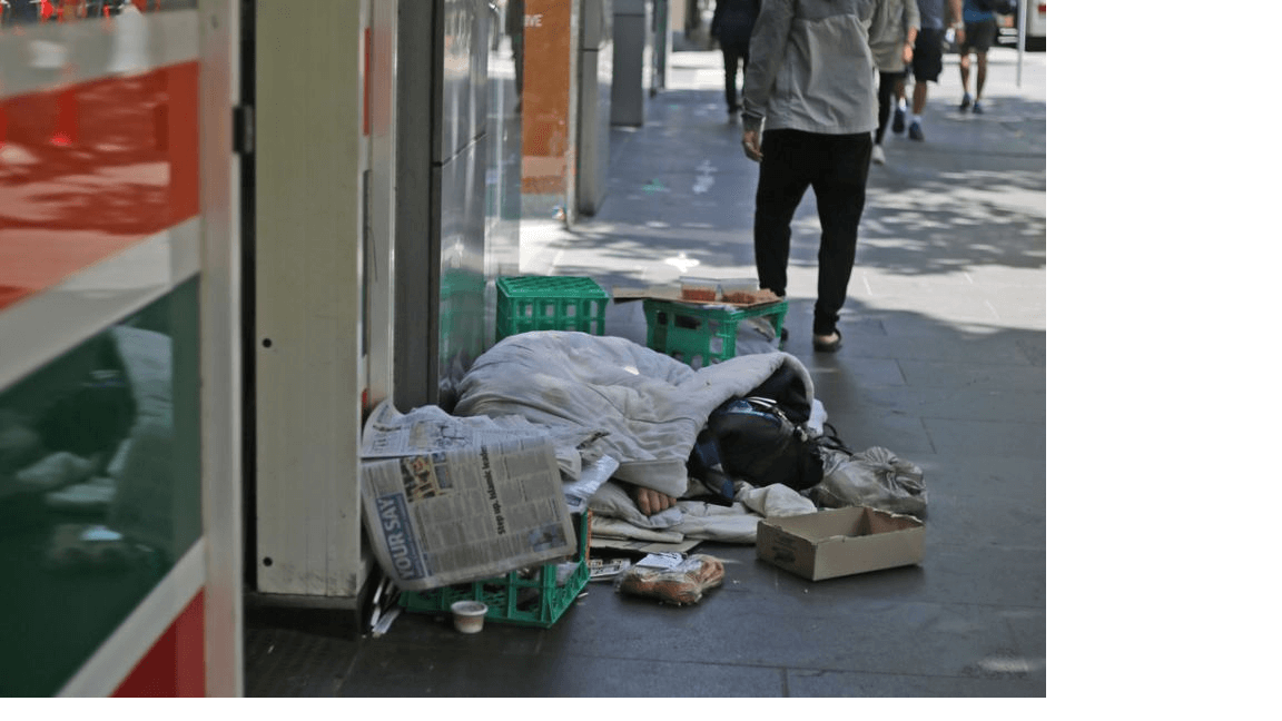 homeless in melbourne