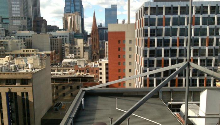 Melbourne rooftops