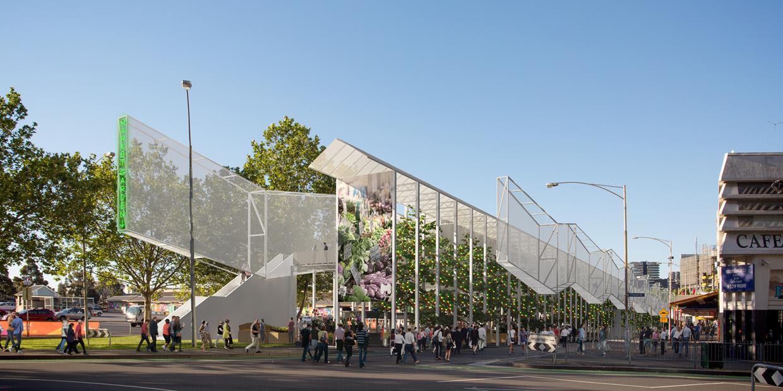 Queen Vic market urban renewal concept